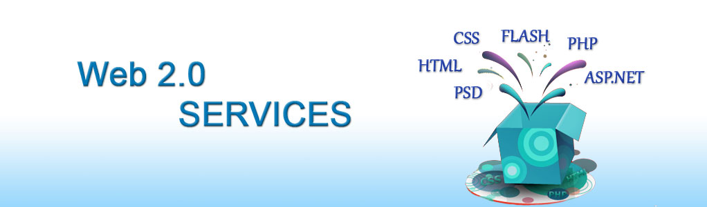 Web 2.0 Services Banner